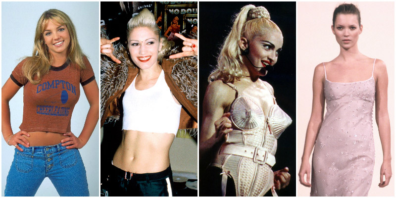 Модные знаменитости 90-х