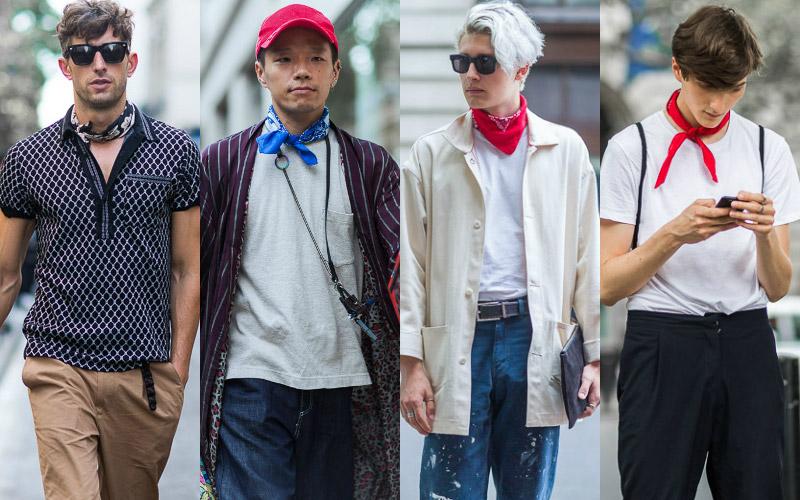 Банданы - тренды-уличной-моды-в-мужской-одежде-весна-лето-2017