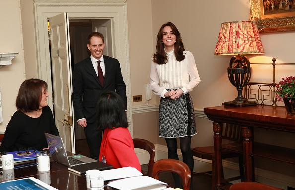 В Kensington Palace, Лондон февраль 2016