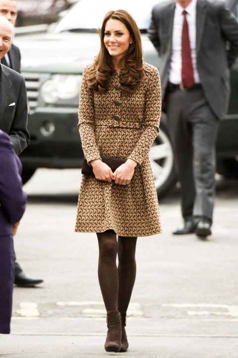 В пальто от Orla Kiely, Оксфорд февраль 2012