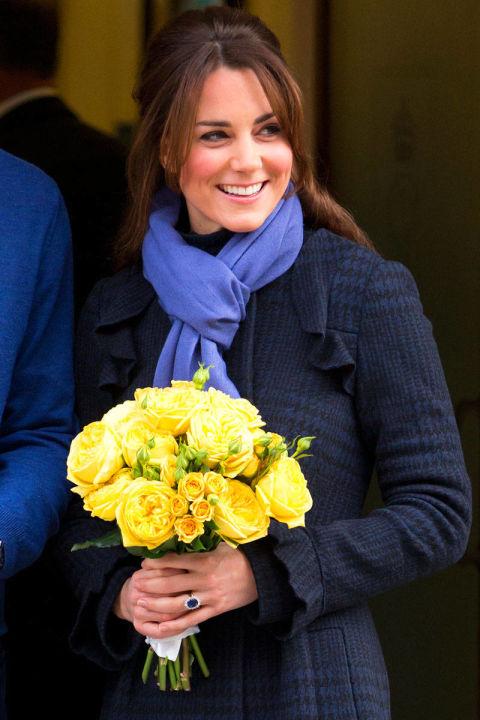 В пальто от Diane von Furstenberg, декабрь 2012