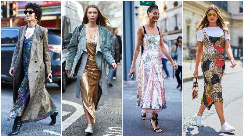 Блестки - модный тренд 80-х годов