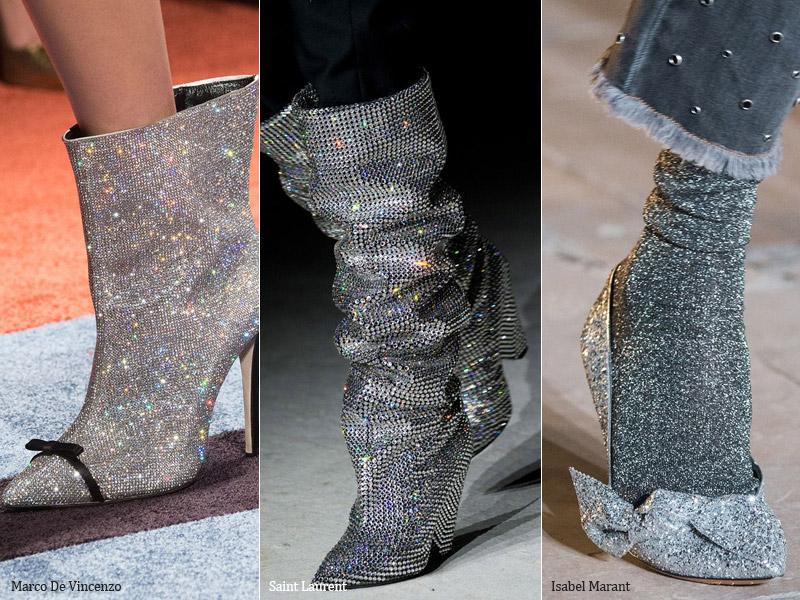 Шик и блеск - модные тенденции обувь осень 2017 / зима 2018