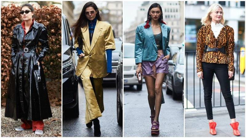 Большие плечи - модный тренд 80-х годов