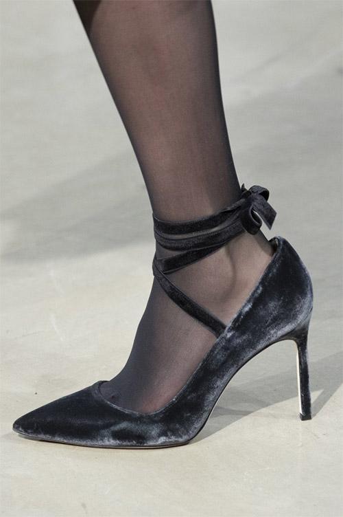 Модные туфли от Carolina Herrera из коллекции осень 2017 / зима 2018