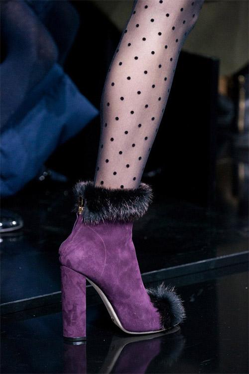 Модная обувь от Elie Saab из коллекции осень 2017 / зима 2018
