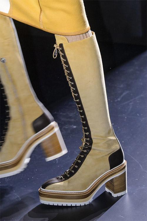 Модная обувь от Hermes из коллекции осень 2017 / зима 2018