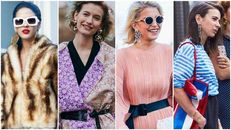 Массивные серьги - модный тренд 80-х годов
