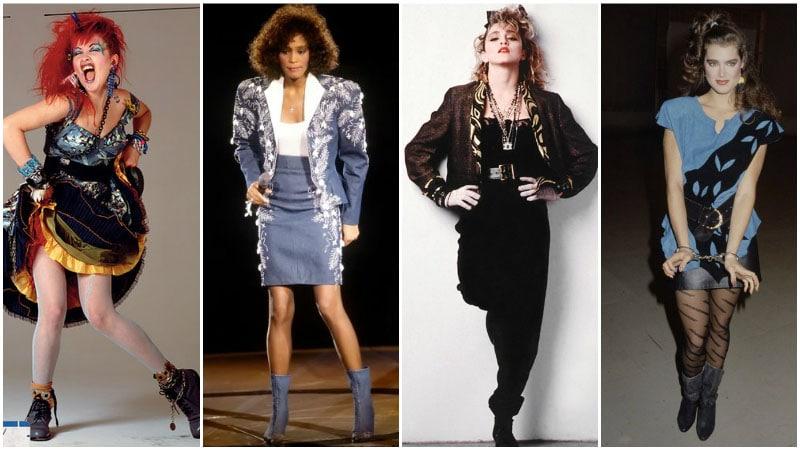 Модные знаменитости 80-х годов