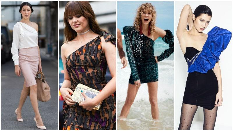 Асимметричность - модный тренд 80-х годов