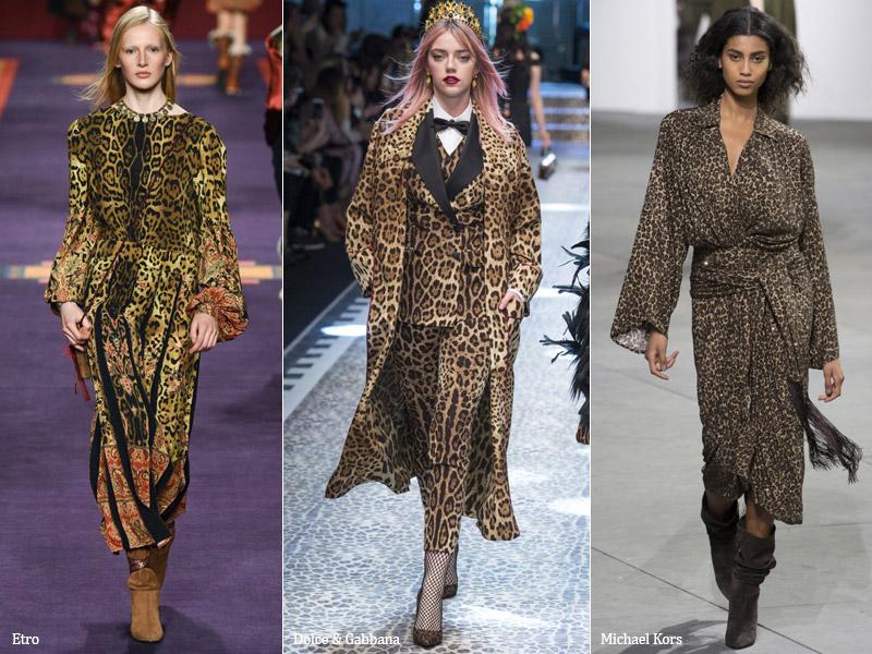 Тренд 15 - леопардовый принт - сезон осень-зима 2017