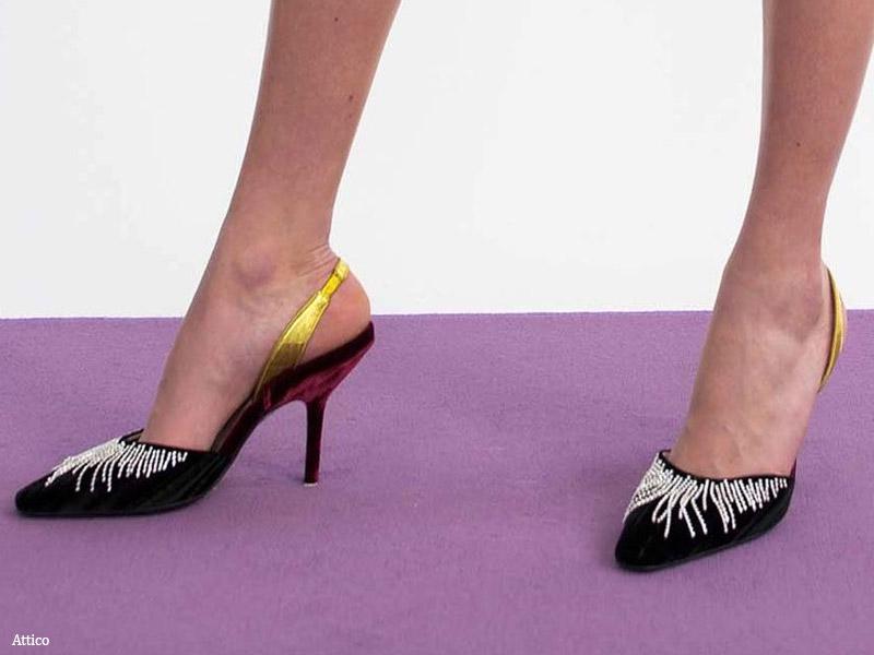 Босоножки с вышивкой и украшениями - модные тенденции обувь осень 2017 / зима 2018