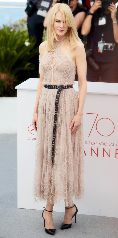 Николь Кидман в кружевном платье