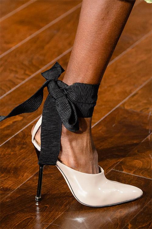 Туфли с бантом от Jason Wu из коллекции осень 2017 / зима 2018