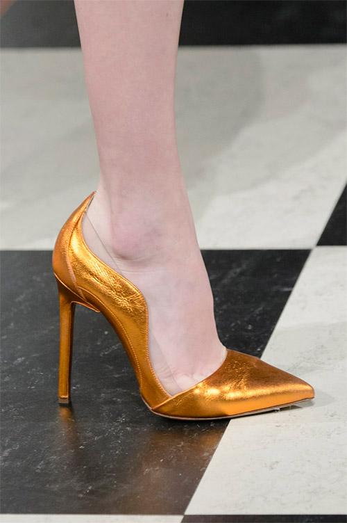 Модные туфли от Oscar de la Renta из коллекции осень 2017 / зима 2018