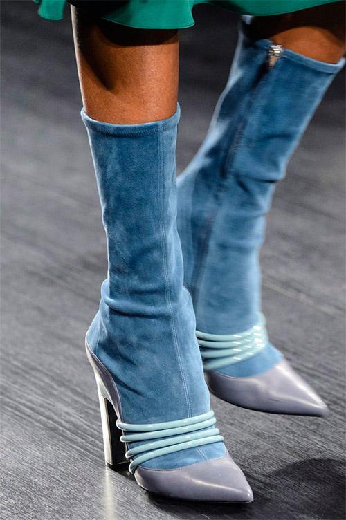 Модная обувь от Prabal Gurung из коллекции осень 2017 / зима 2018