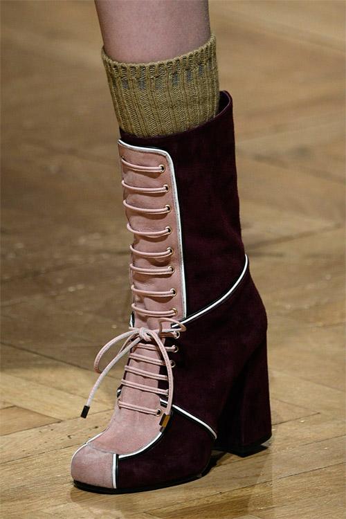 Модная обувь от Stella Jean из коллекции осень 2017 / зима 2018