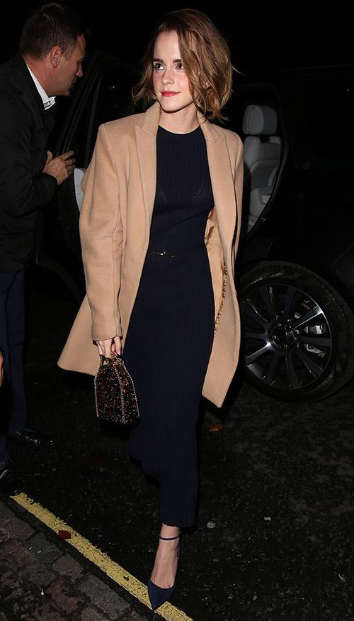 В пальто от BEHNO, Лондон декабрь 2015
