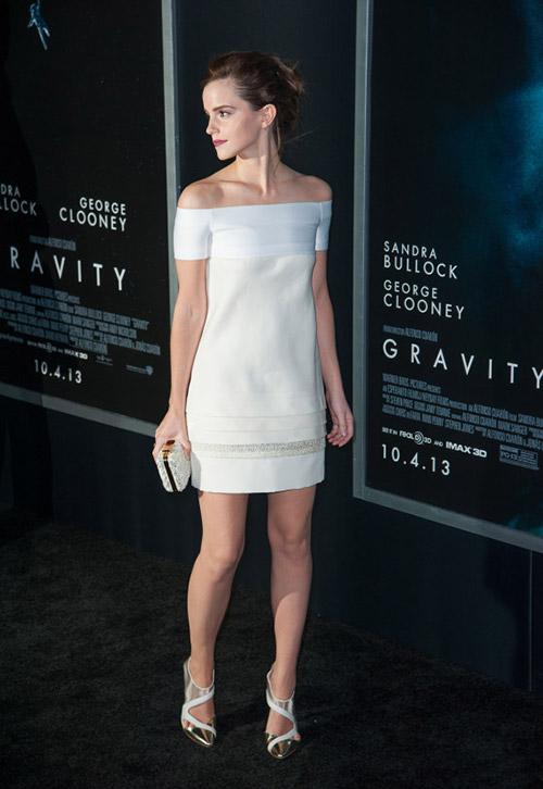 В платье от J. Mendel, Нью-Йорк октябрь 2013