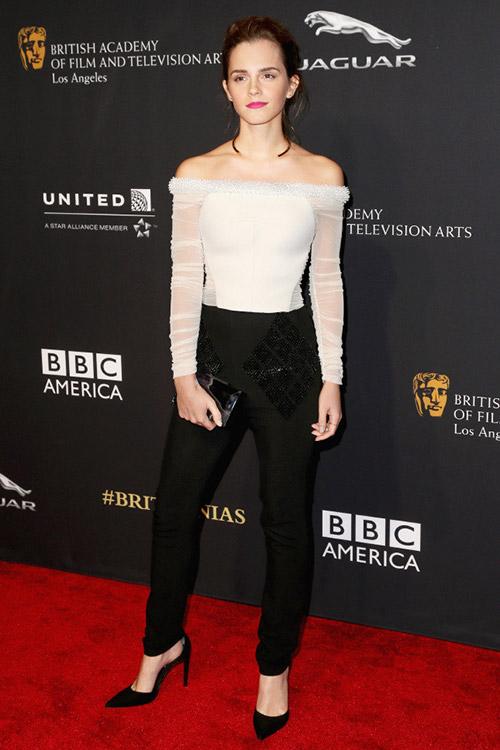 На BAFTA Britannia Awards в Лос-Анджелесе, октябрь 2014