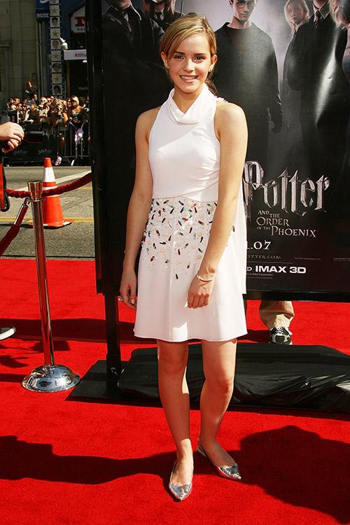 """На премьере фильма """"Гарри Поттер и Орден Феникса"""" в Лос-Анджелесе июль 2007"""