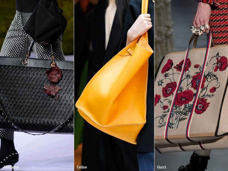 Сумки в стиле оверсайз модные тенденции сезона осень 2017 - зима 2018