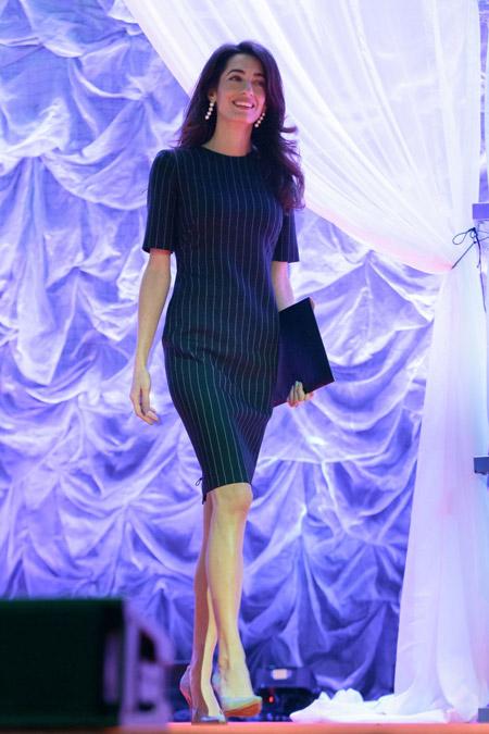Амаль Клуни выступает в Техасе на Conference for Women in Austin, ноябрь 2016