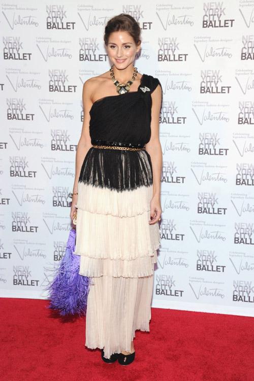 В потрясающем платье от Dior на New York City Ballet gala