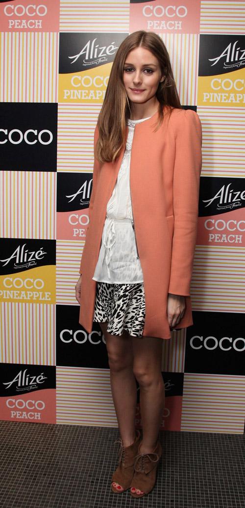 На запуске нового аромата Alize от Coco, Нью-Йорк