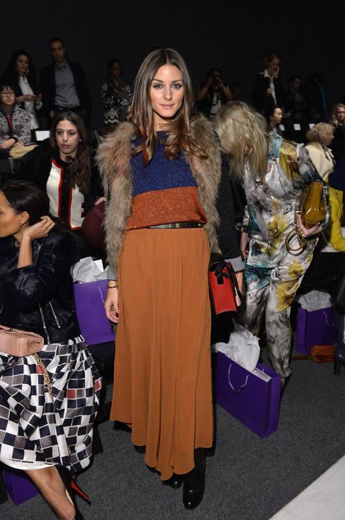 На шоу Noon by Noor во время Недели Моды в Нью-Йорке
