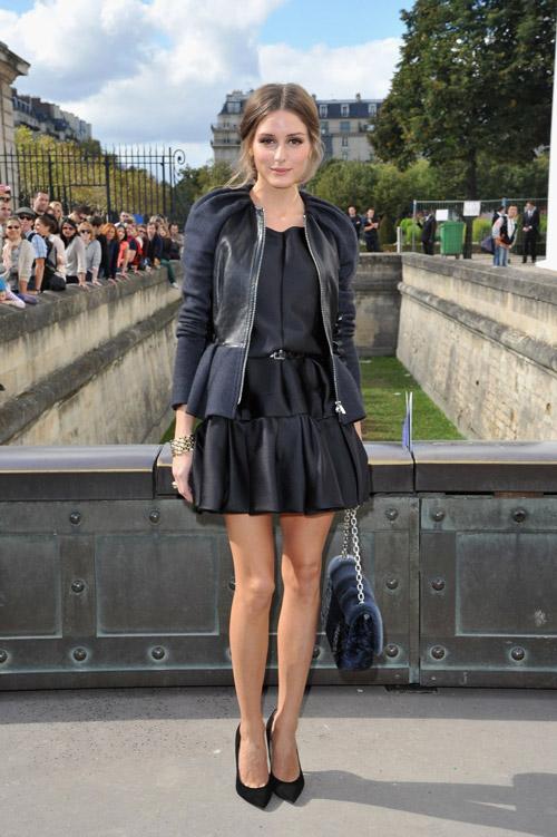 На шоу Christian Dior 2013 в Париже