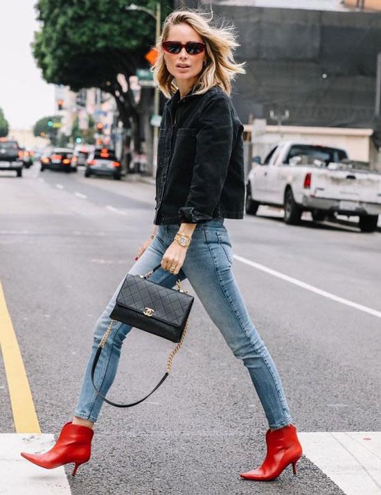 Модные джинсы-скинни для девушек на весну 2020