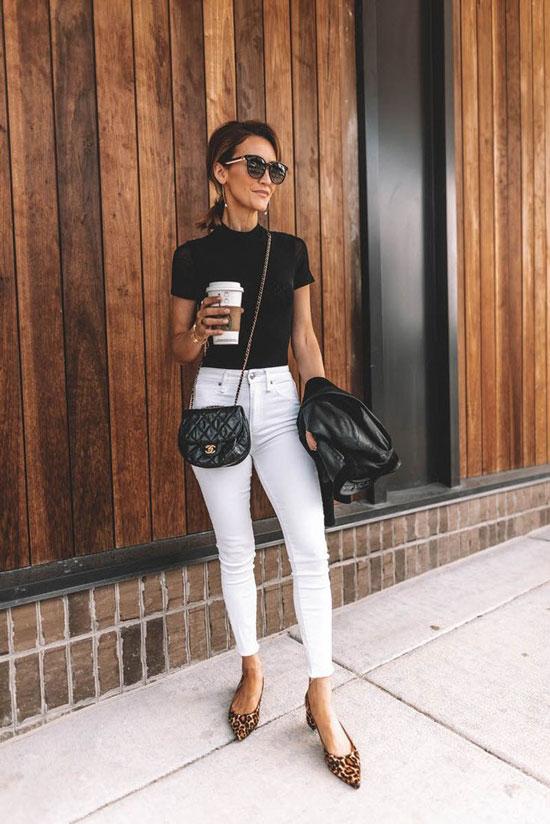 Стильные женские джинсы-скинни на весну 2020