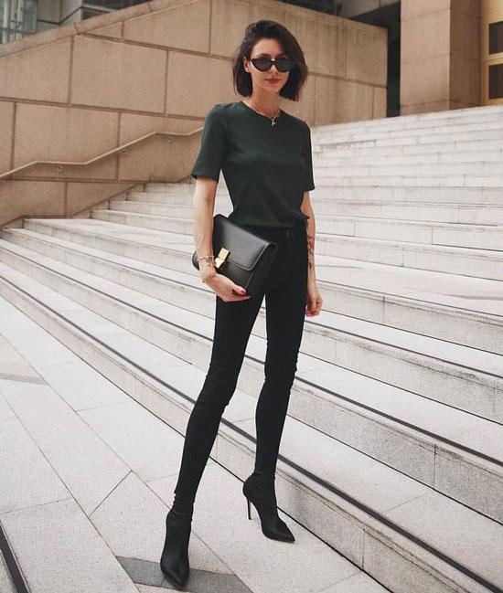 Модные джинсы-скинни для девушек 2020