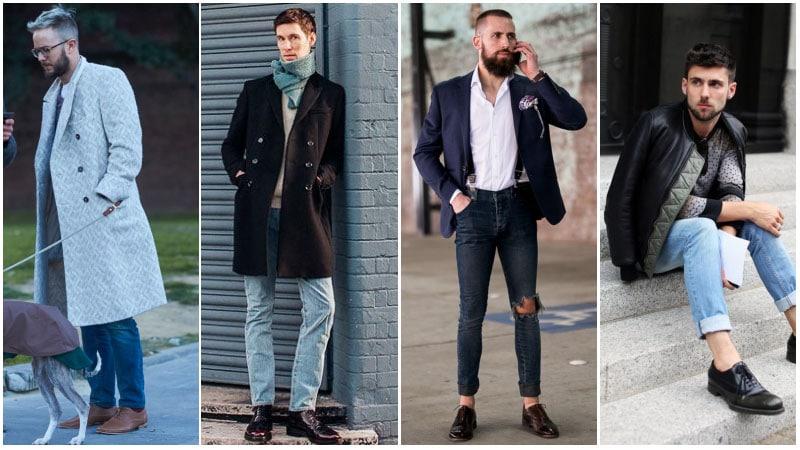 Парни в джинсах и оксфордах