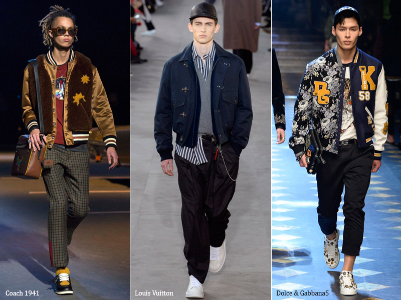 тренд-6 Бомбер - мужская мода осень/зима 2017-2018 г.