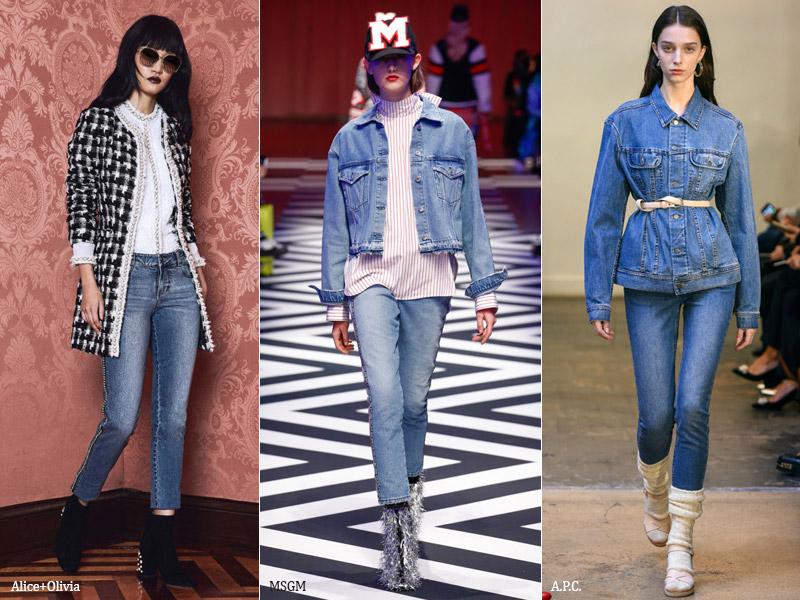 тренд 8. зауженные - модные джинсы осень/зима 2017-2018