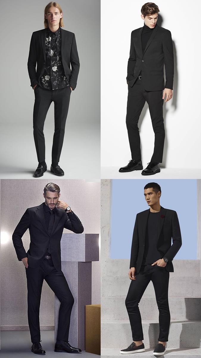 Черное с черным на черном