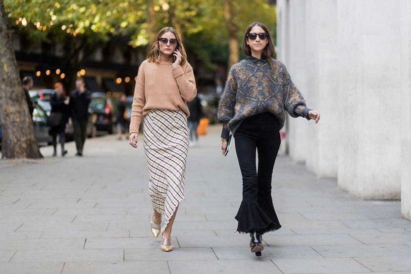 Модные двушки на неделе моды в лондоне