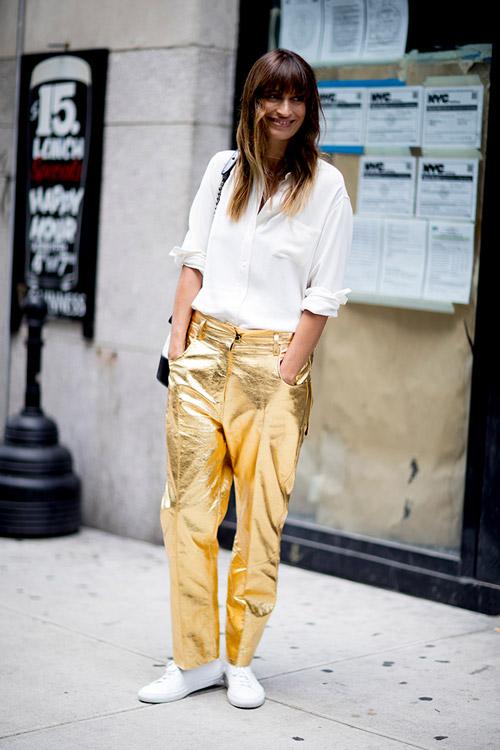 Уличная мода Нью-Йорка во время показов весна/лето 2018 - фото 101