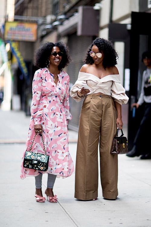 Уличная мода Нью-Йорка во время показов весна/лето 2018 - фото 106