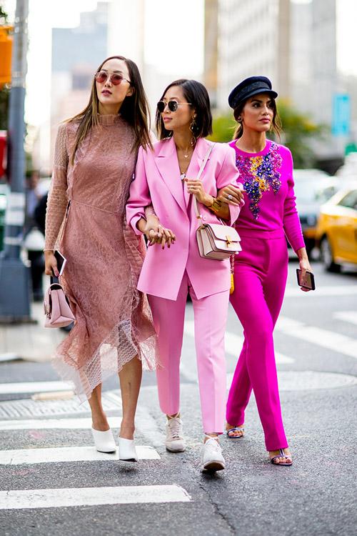 Уличная мода Нью-Йорка во время показов весна/лето 2018 - фото 111