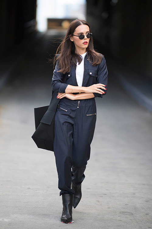 Уличная мода Нью-Йорка во время показов весна/лето 2018 - фото 2