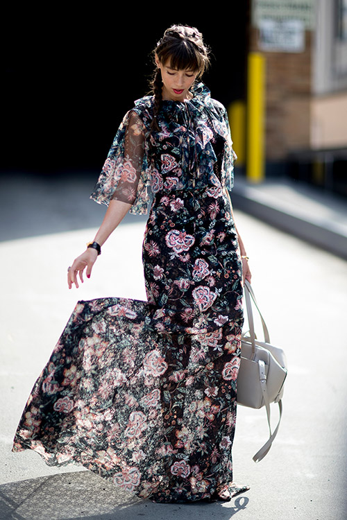 Уличная мода Нью-Йорка во время показов весна/лето 2018 - фото 8