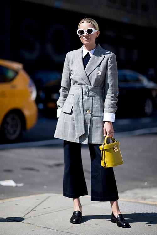 Уличная мода Нью-Йорка во время показов весна/лето 2018 - фото 9