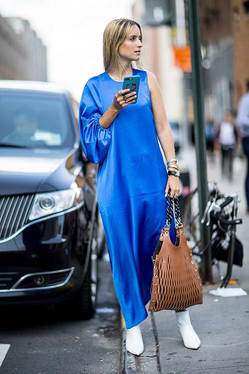 Уличная мода Нью-Йорка во время показов весна/лето 2018 - фото 18