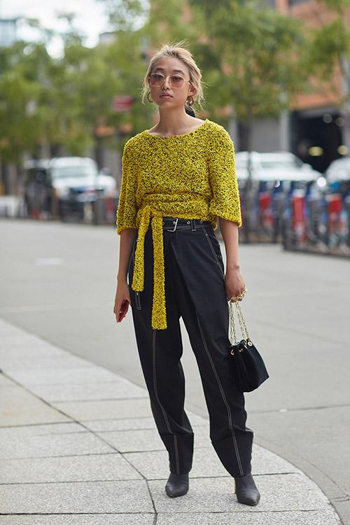 Уличная мода Нью-Йорка во время показов весна/лето 2018 - фото 24