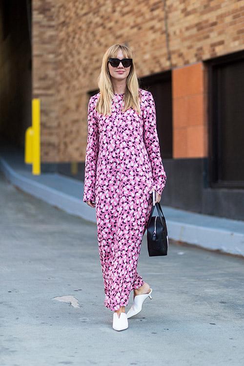 Уличная мода Нью-Йорка во время показов весна/лето 2018 - фото 29