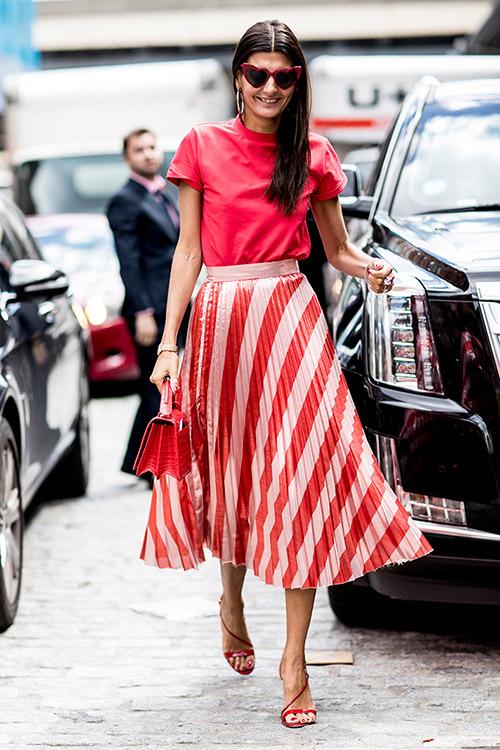 Уличная мода Нью-Йорка во время показов весна/лето 2018 - фото 36
