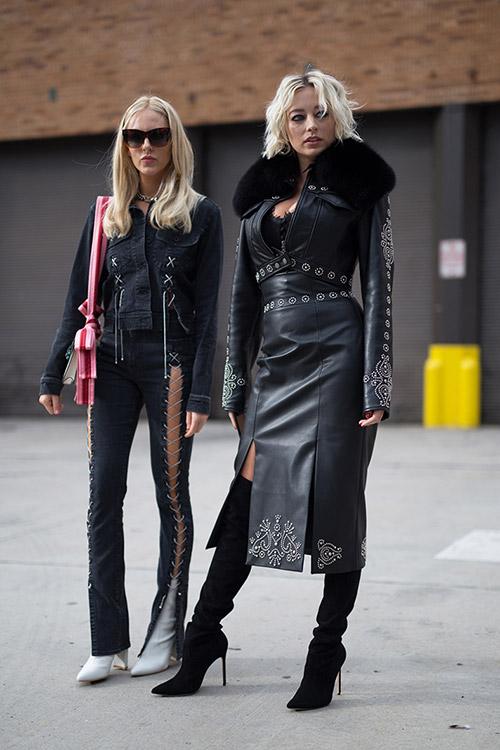 Уличная мода Нью-Йорка во время показов весна/лето 2018 - фото 39